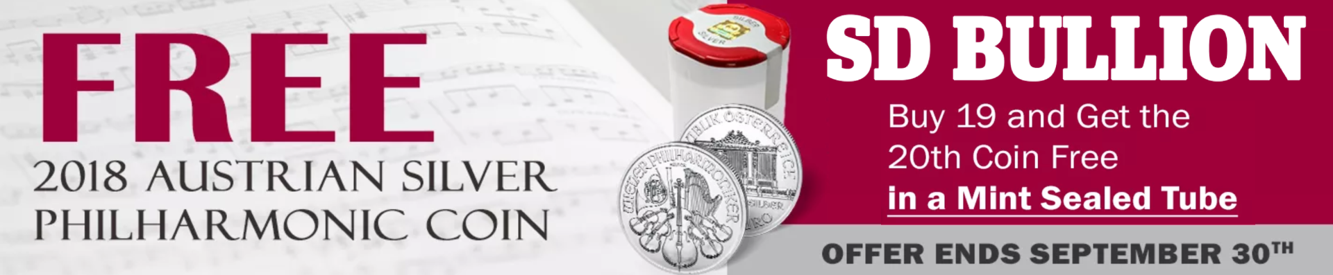 Emerging Market Currency Chaos | Silver Fortune Silver Philharmonic Coin Sale at SD Bullion SDBullion.com