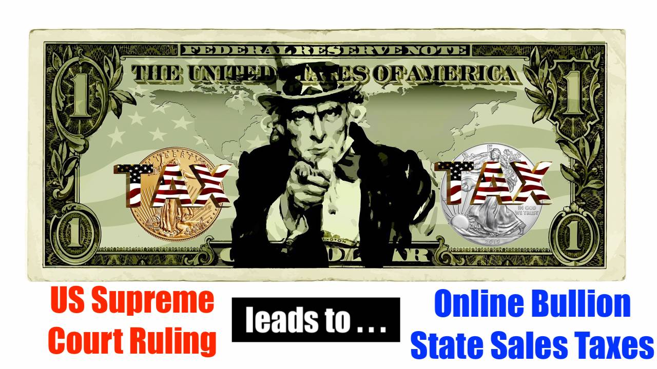 Gold Sales Tax by US States: ICTA's Jimmy Hayes