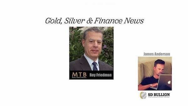 Gold Silver Podcast Bullion Premiums Going Higher, Secondary Supply Almost Gone Roy Friedman SD Bullion SDBullion.com
