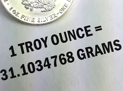How Many Grams In An Ounce Of Silver
