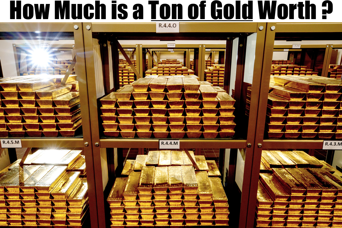 How Much Is A Ton Of Gold Worth