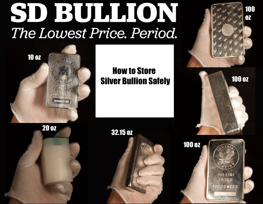 How to Store Silver Bullion Safely How to Hide Silver Bullion SD Bullion SDBullion.com