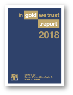 In Gold We Trust Report 2018 SD Bullion SDBullion.com