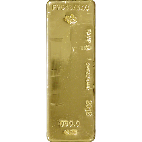PAMP Suisse 400 oz Gold Bar SD Bullion SDBullion.com How to buy gold wholesale How to buy gold at wholesale prices