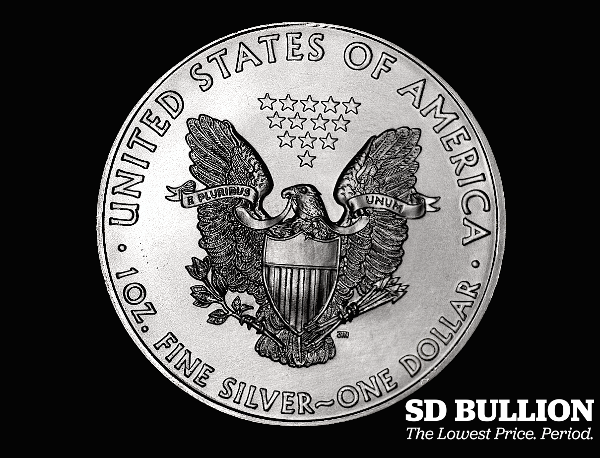 Silver Eagle Coin Value Inputs Whay are Silver Eagle Coins so Expensive SD Bullion SDBullion.com