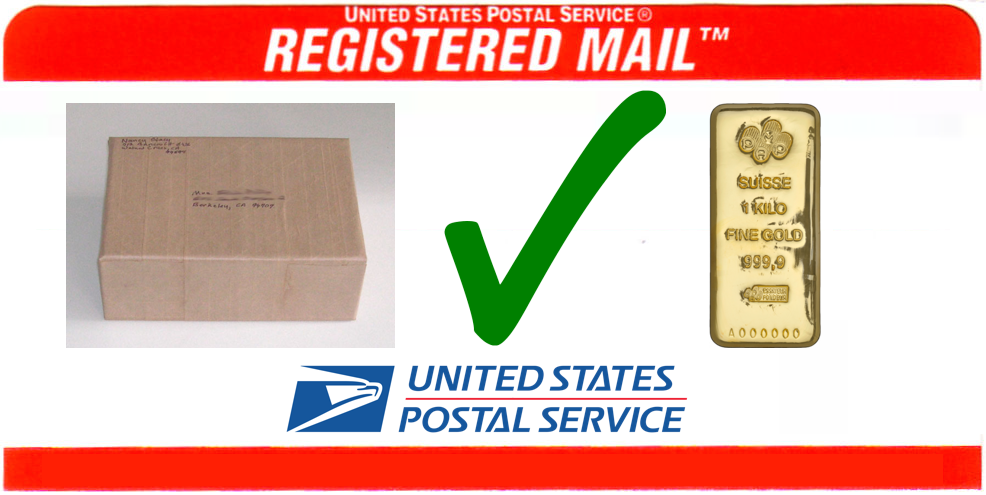 Does USPS ship Gold?