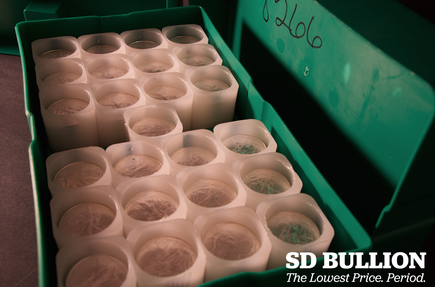 US Mint Case monster box interior Mint Tubes Open Silver Eagle Coins SD Bullion SDBullion.com