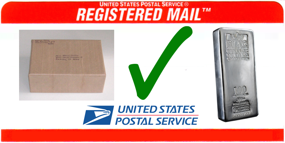 Does USPS ship Silver?