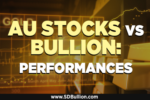 Gold Stocks vs Gold Bullion Performances