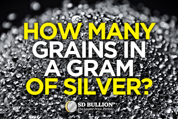 How Many Grains In a Gram of Silver