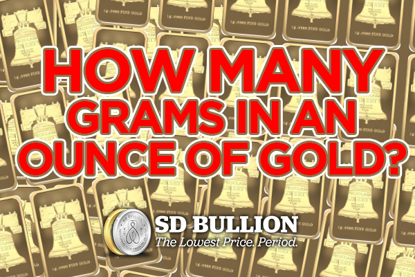 How Many Grams Are In An Ounce Of Gold