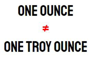 Ounce Vs Troy What S The