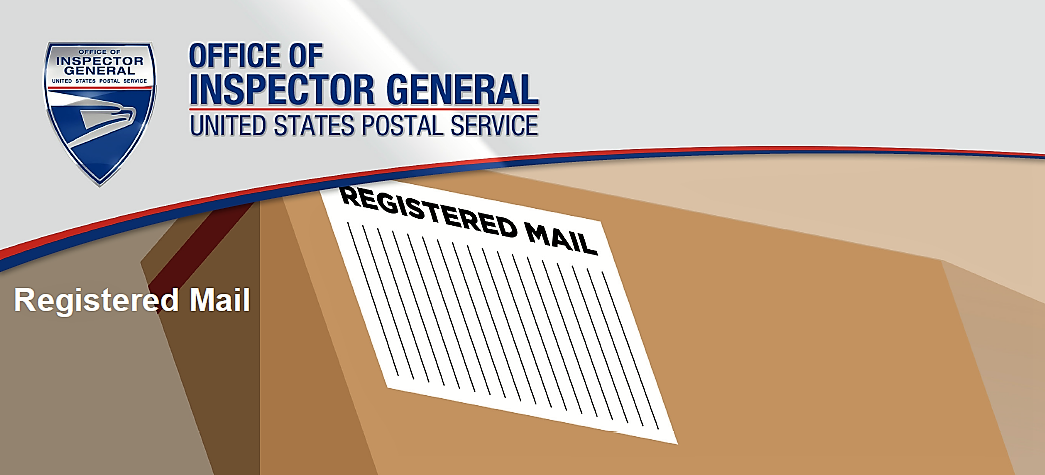 Office of Inspector General - Registered Mail