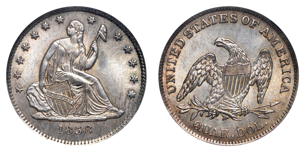 Seated Liberty Silver Quarter
