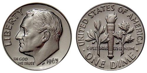 90% Silver Roosevelt Dime