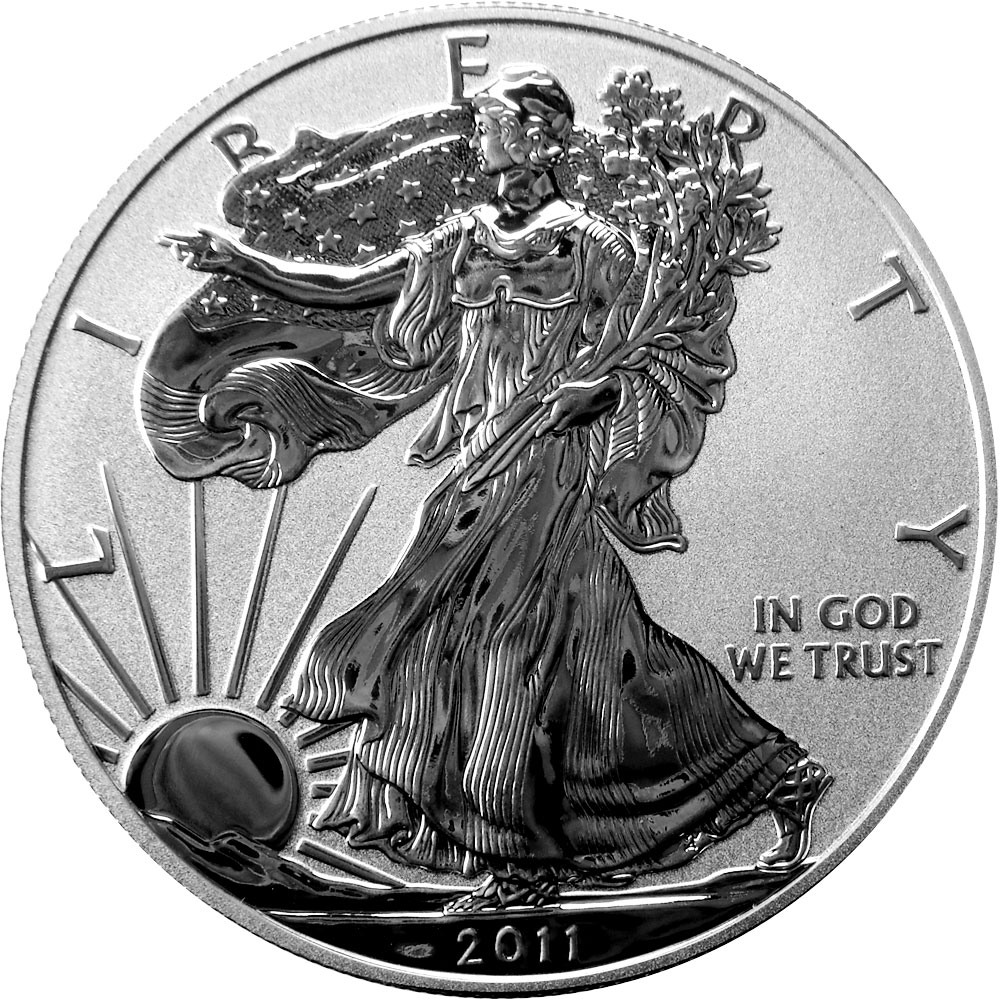 Reverse Proof Silver Eagle Coin