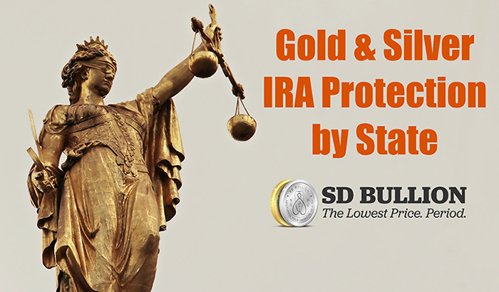 Gold Silver IRA Protection by State