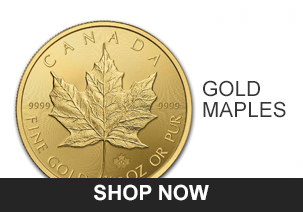 American Gold Eagle Coins Canadian Maple Leafs