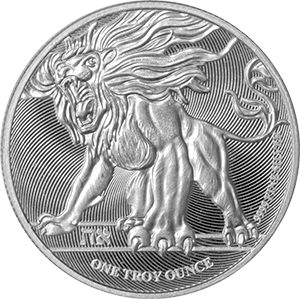2019 Roaring Lion Silver Coin