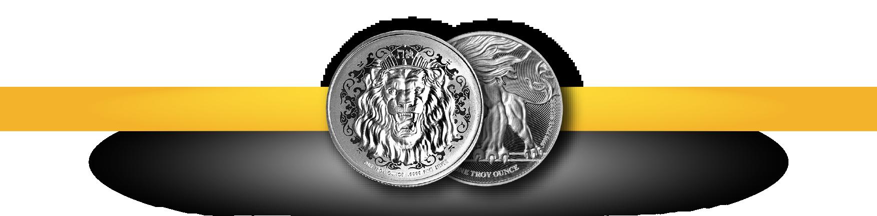 roaring lion coins bottom