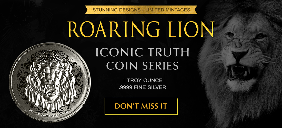 2020 Roaring Lion Silver Coin