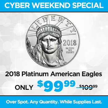 2018 1 oz Platinum American Eagle Coin