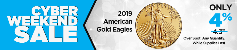 2019 1 oz Gold American Eagle Coin