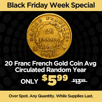 20 Franc French Gold Coin