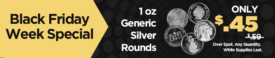 Generic Silver Rounds