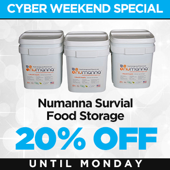 NuManna GMO Free Food Storage
