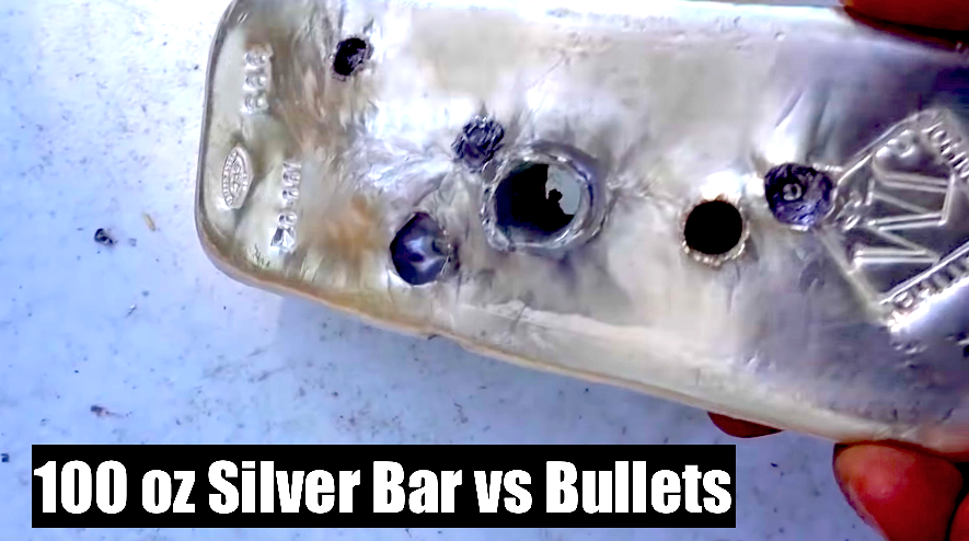 100 oz Silver Bullet Bullion Battle Video
