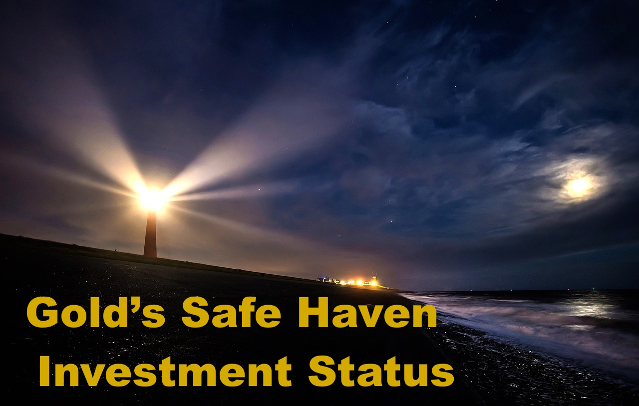 Gold investment hedge Gold safe haven appeal