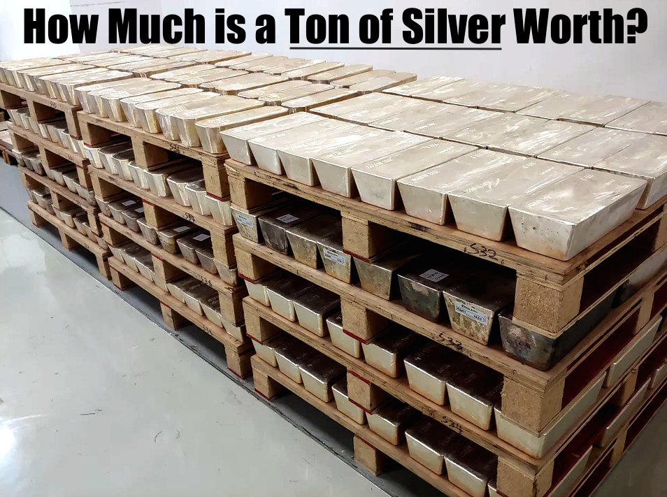How Much is a Ton of Silver Worth? | Silver Tonne Weight