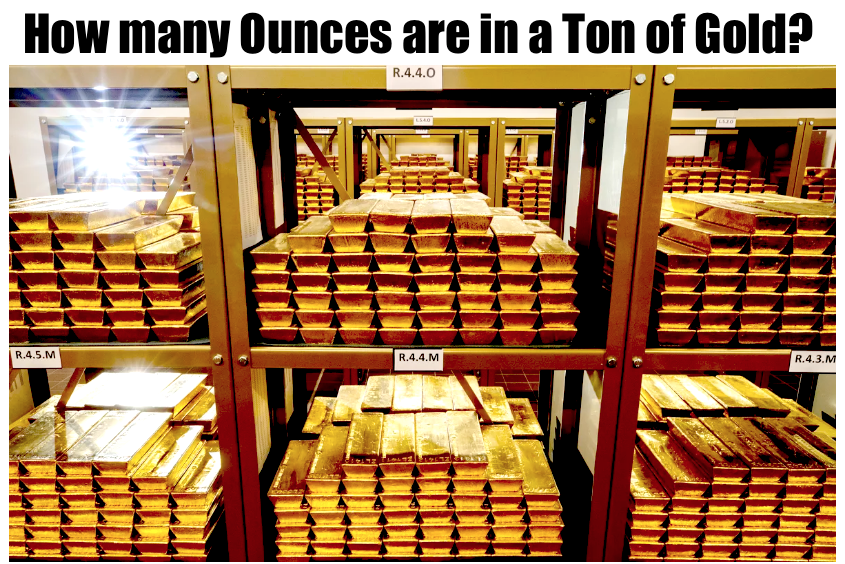 How Many Ounces in a Ton of Gold?