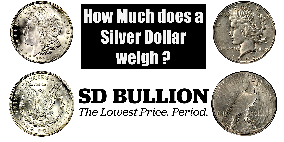 How Much Does a Silver Dollar Weigh?