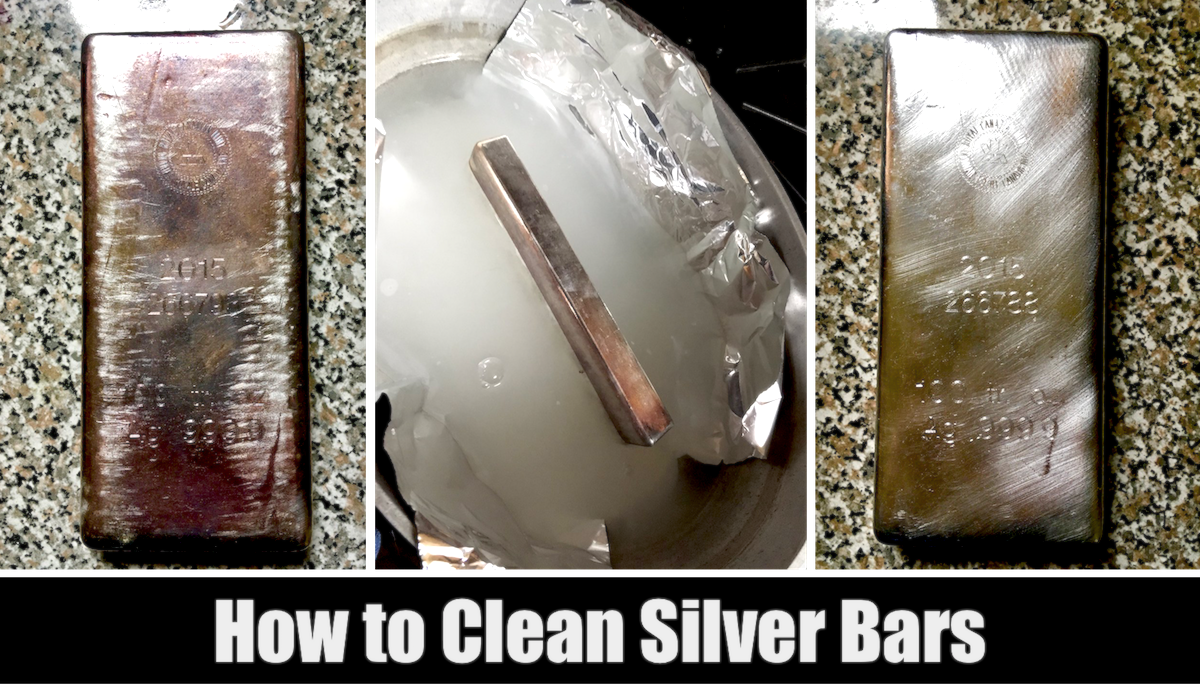 How to Clean Silver Bullion Bars
