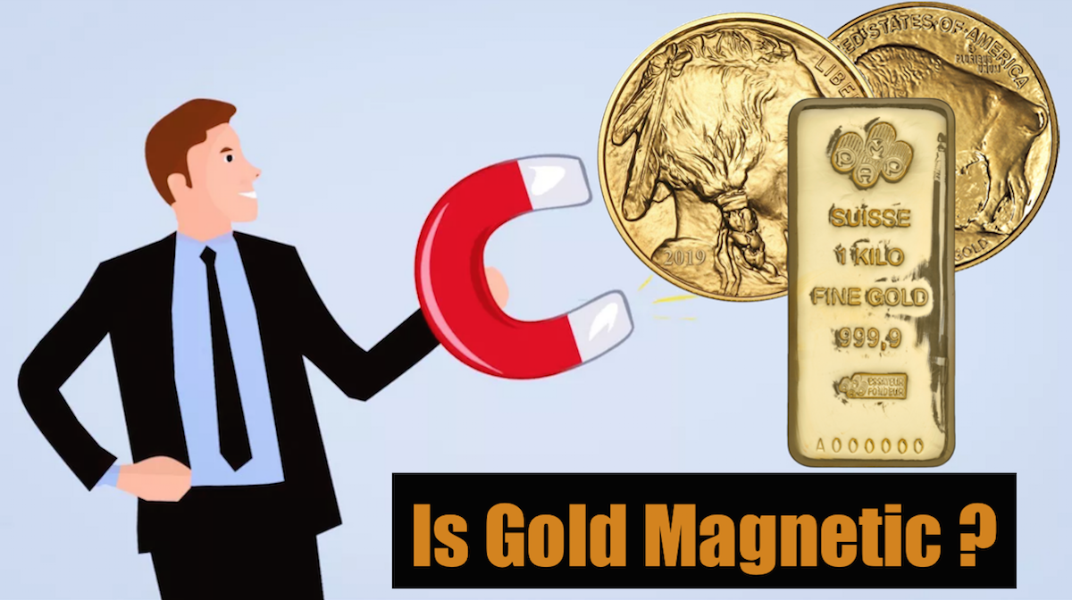 Is Gold Magnetic? | SEE FOR YOURSELF
