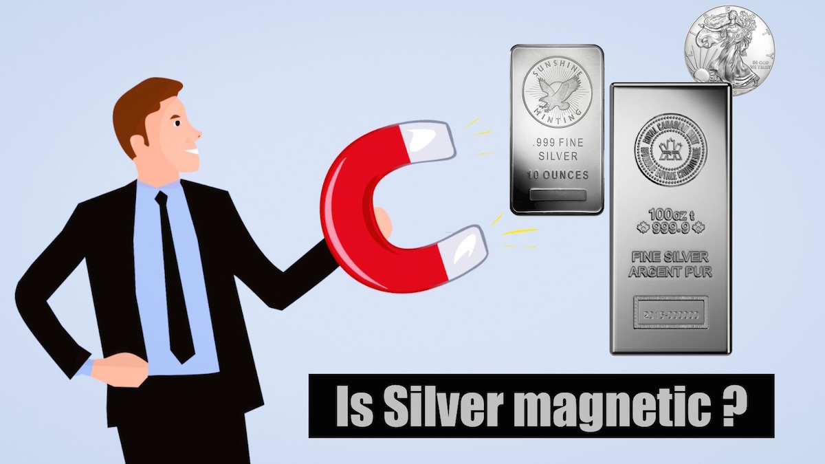 Is Sterling Silver Magnetic? SDBullion.com/blog/is-silver-magnetic