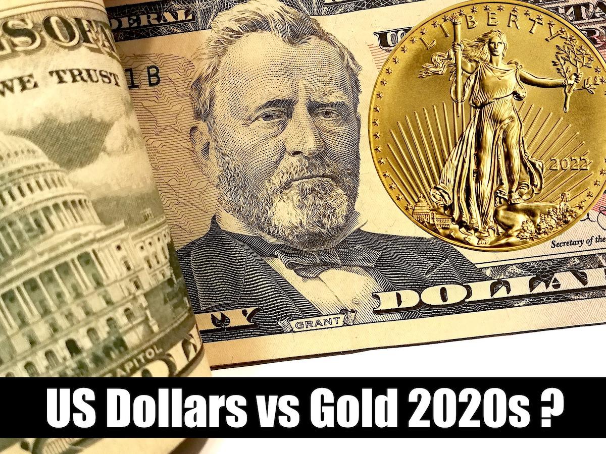 Gold vs dollar SD Bullion