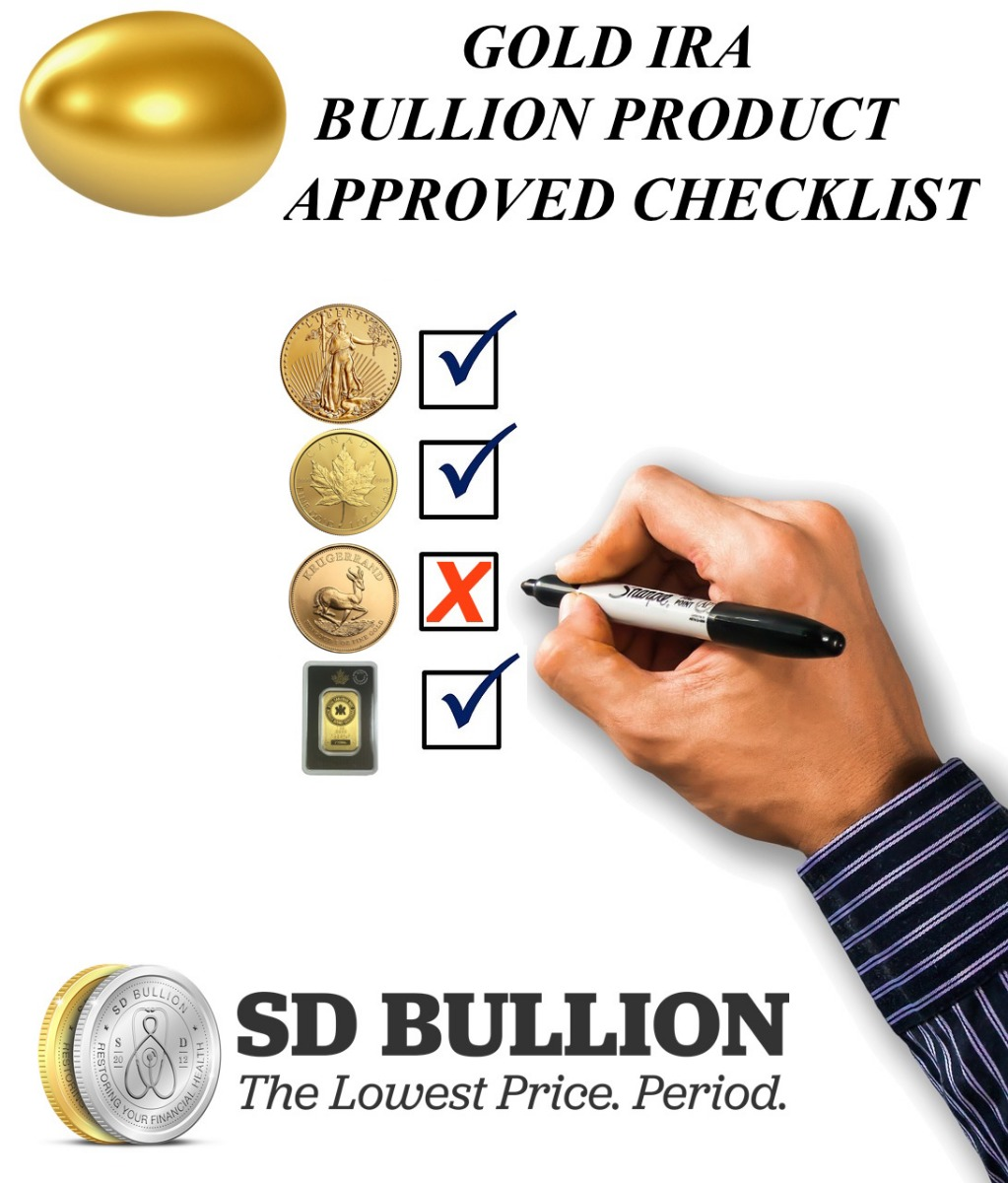 IRA Approved Gold Bullion Coins, Bars | Gold IRA Approved