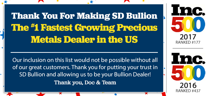 SD Bullion Inc 500