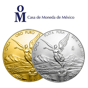 Mexican Mint Gold Silver Coins