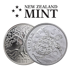 New Zealand Mint Gold Silver Coins