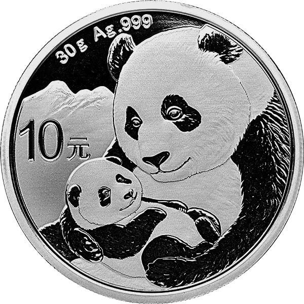 Chinese Mint Silver Panda Coins