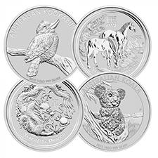 Random 1 Kilo Silver Coins