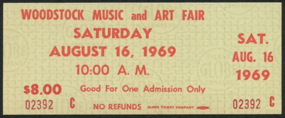 Silver Prices 1969 Cost of living Woodstock ticket SD Bullion SDBullion.com