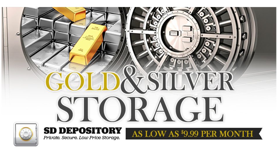 Gold Silver Storage Header