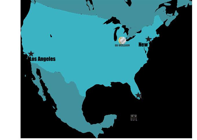 SD Bullion Storage Locations