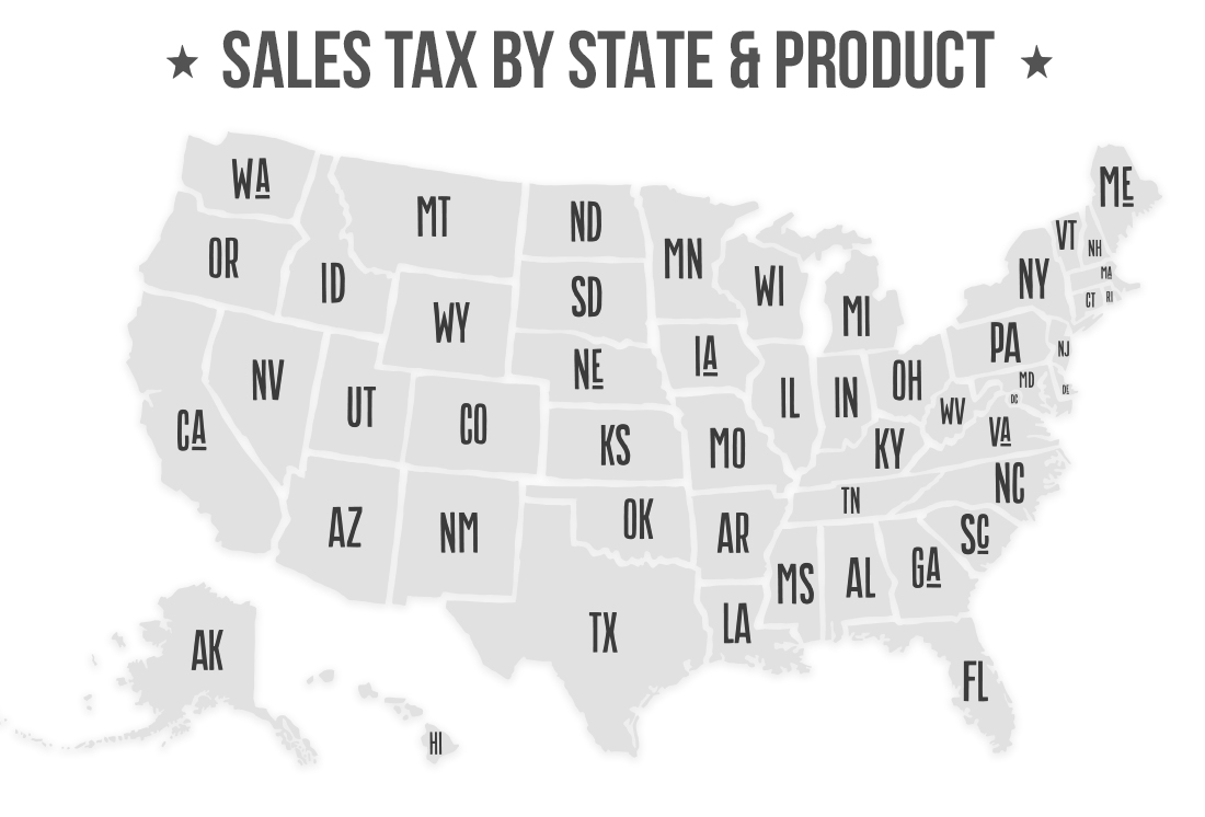 Gold Silver Sales Tax by State